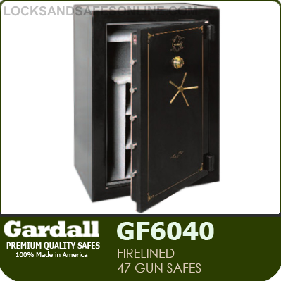 Firelined 47 Gun Safes with Fire Rating & Spyproof Dial | Gardall GF6040