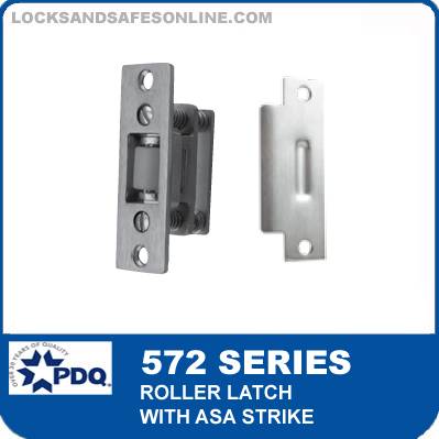 PDQ 572 Series Roller Latch with ASA Strike