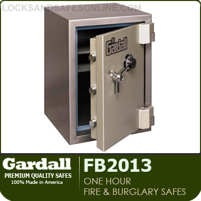 One Hour Fire and Burglary Safes | Gardall FB2013