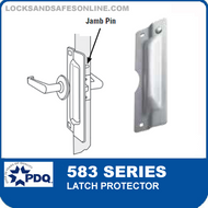 "PDQ 583 Series Latch Protector with 3-3/8"" DIA Notched"