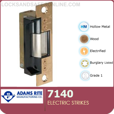 electric strikes adams rite 7140 (ar7140)locks and safes online com