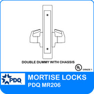Double Dummy with Chassis Non-Cylinder | PDQ MR206 | F Sectional Trim
