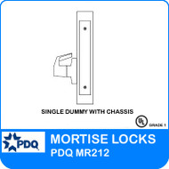 Single Dummy with Chassis | PDQ MR212 | F Sectional Trim