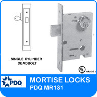 Single Cylinder Deadbolts Mortise Locks | PDQ MR131