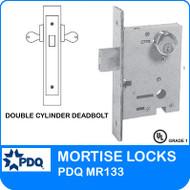 PDQ MR133 Double Cylinder Deadbolt Mortise Locks