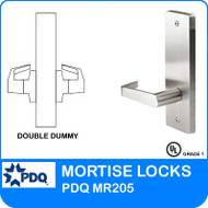 Grade 1 Double Dummy Non Cylinder | PDQ MR205 | F Series Escutcheon Trim