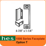 HES T Option - 1006 Series Faceplate