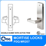 Grade 1 Double Dummy with Active Trim | PDQ MR207 | J Escutcheon Trim