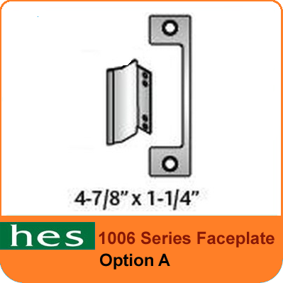 HES A Option - 1006 Series Faceplate