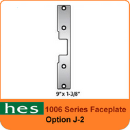 HES J-2 Option - 1006 Series Faceplate