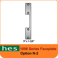 HES N-2 Option - 1006 Series Faceplate