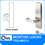 Grade 1 Single Dummy | PDQ MR211 | J Wide Escutcheon Trim