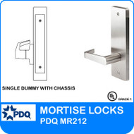 Grade 1 Single Dummy with Chassis | PDQ MR212 | J Wide Escutcheon Trim
