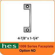 HES ND Option - 1006 Series Faceplate