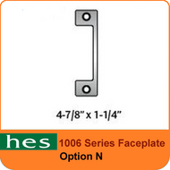 HES N Option - 1006 Series Faceplate