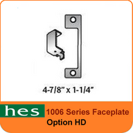 HES HD Option - 1006 Series Faceplate