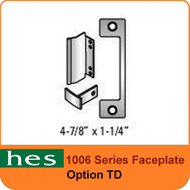 HES TD Option - 1006 Series Faceplate