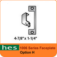 HES H Option - 1006 Series Faceplate