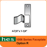 HES R Option - 1006 Series Faceplate