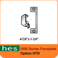 HES HTD Option - 1006 Series Faceplate