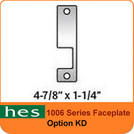 HES KD Option - 1006 Series Faceplate