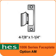 HES AM Option - 1006 Series Faceplate