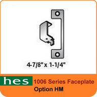 HES HM Option - 1006 Series Faceplate