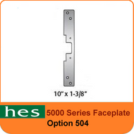 HES 504 Option - 5000 Series Faceplate