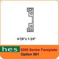HES 5200 Series Faceplate - 501 Option