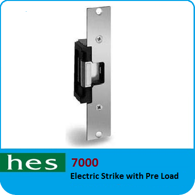 Electric Strike with Pre load - HES 7000