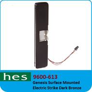 HES 9600-613 - Genesis Surface Mounted Electric Strike Dark Bronze