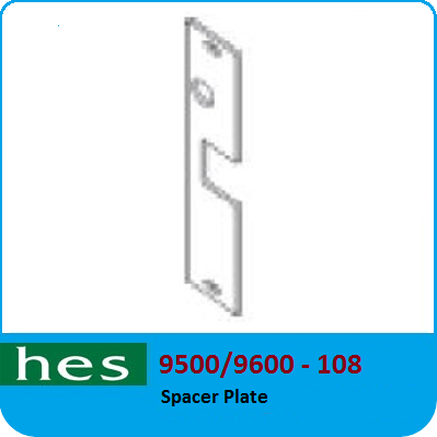 9600-108 Spacer Plate for 9500//9600 Series 9500060051 NEW Hes 9500