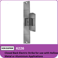 Von Duprin 6226 - Closed Back Electric Strike for use with Hollow Metal or Aluminum Applications with Mortise or Cylindrical Locks
