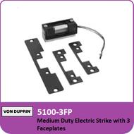 Von Duprin 5100-3FP - Medium Duty Electric Strike with 3 Faceplates