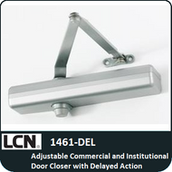 LCN 1461-DEL - Adjustable Commercial and Institutional Door Closer with Delayed Action