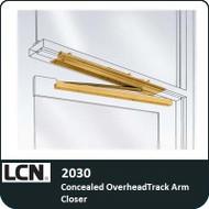 LCN 2030 - Concealed OverheadTrack Arm Closer
