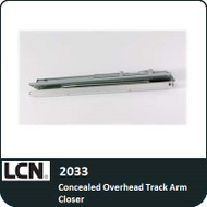 LCN 2033 - Concealed Overhead Track Arm Closer
