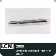 LCN 2033 - Concealed Overhead Track Arm Closer