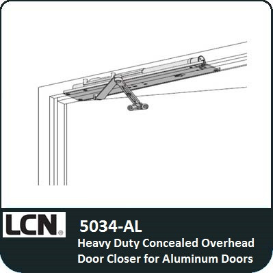 Lcn 5034 Al Heavy Duty Concealed Door Closer