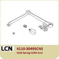 LCN 4110-3049SCNS Hold Open Spring CUSH Arm
