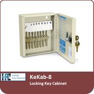 KeKab-8 Locking Key Cabinet by HPC