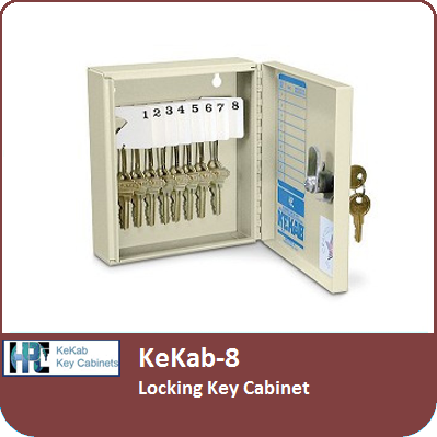 KeKab-8 Locking Key Cabinet by HPC