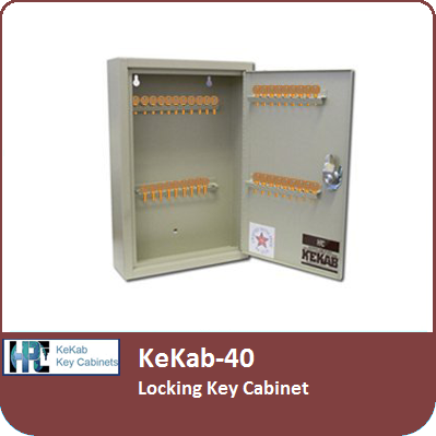 Locking Key Cabinets | HPC KeKab-40