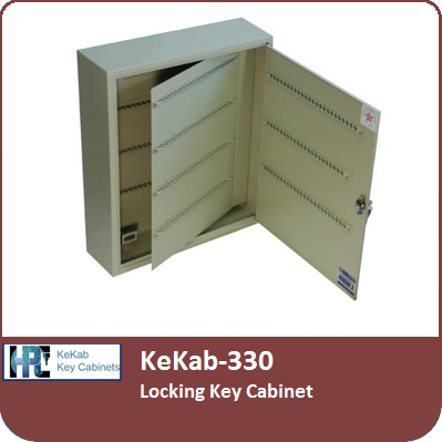 KeKab-330 Locking Key Cabinet by HPC