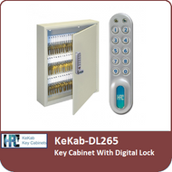 KeKab-DL265 - Key Cabinet With a Digital Lock by HPC