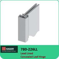 Roton 780-226LL - Lead Lined Concealed Leaf Hinge