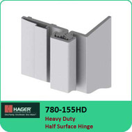 Roton 780-155HD - Heavy Duty Half Surface Hinge