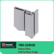 Roton 780-259HD - Heavy Duty Half Surface Hinge