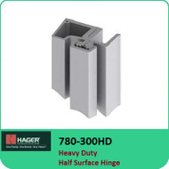 Roton 780-300HD - Heavy Duty Half Surface Hinge