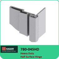 Roton 780-045HD - Heavy Duty Half Surface Hinge